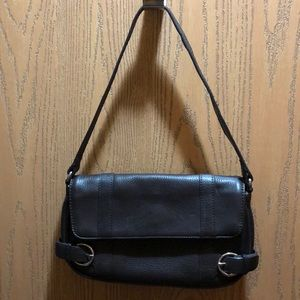 The Loft Brown Leather Purse